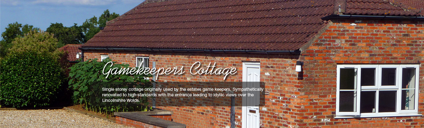 Gamekeepers Holiday Cottage near Skegness Lincolnshire
