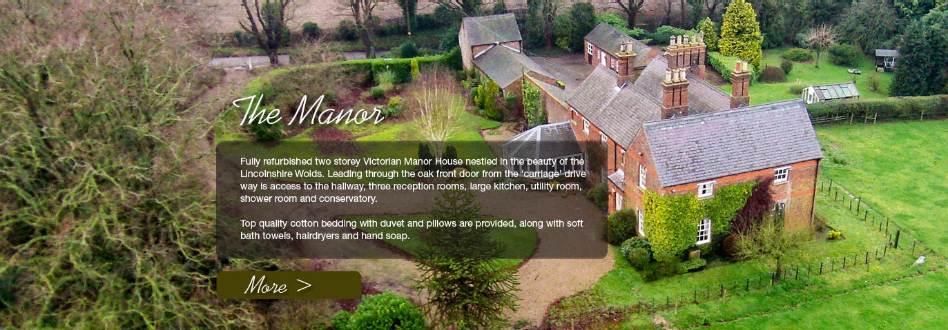 The Manor - Luxury Holiday Accommodation in Lincolnshire